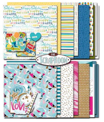 Cafe Club Monthly Scrapbooking Layout Kit Club At The Scraproom